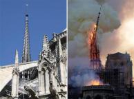 Paris Notre-Dame katedrali yanıyor!