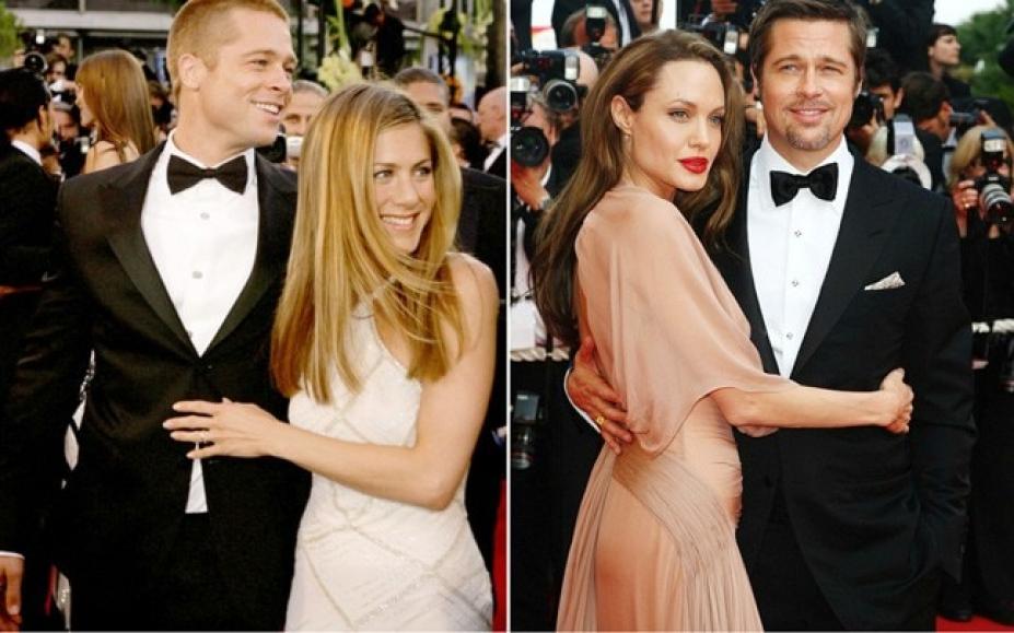2 kadın 1 adam! brad pitt - jennifer aniston - angelina jolie